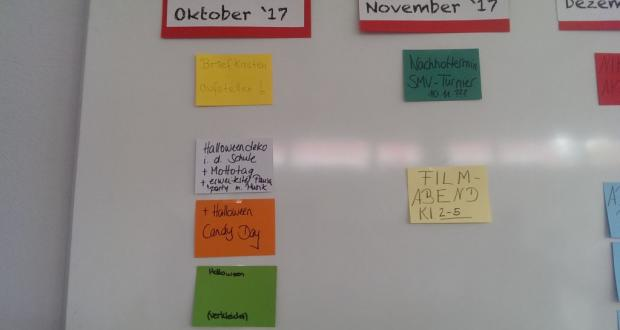 SMV-Planungsmittag