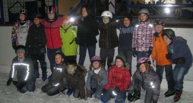 Ausflug der Klasse 4a in die Eishalle Eppelheim…