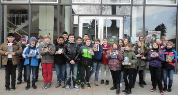 Besuch der Bücherei in Mühlhausen