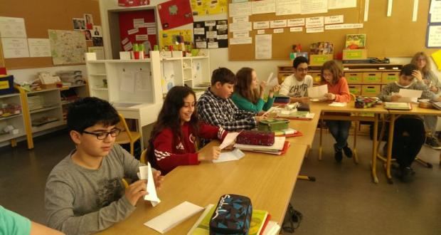 Klasse 6a im Schreibfieber...