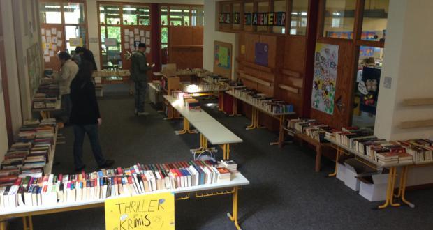 Bücherflohmarkt in der GS