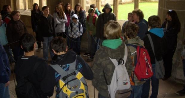 Ausflug der beiden 7. Klassen ins Kloster Maulbronn