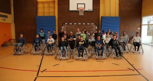 Rollstuhlbasketball an der KSM