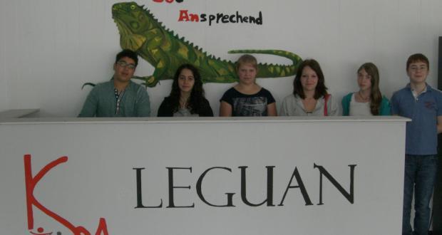 Neue Leguan-Theke