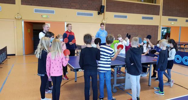 Tischtennis im Sportunterricht