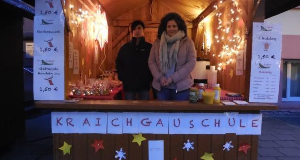 Weihnachtliche Holzhütte...