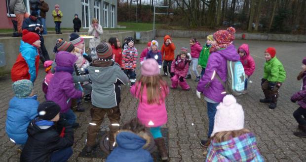 Winterfeier der Klassen 1a+b